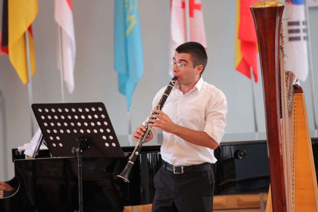 Arsen Zakaryan clarinet Concert day