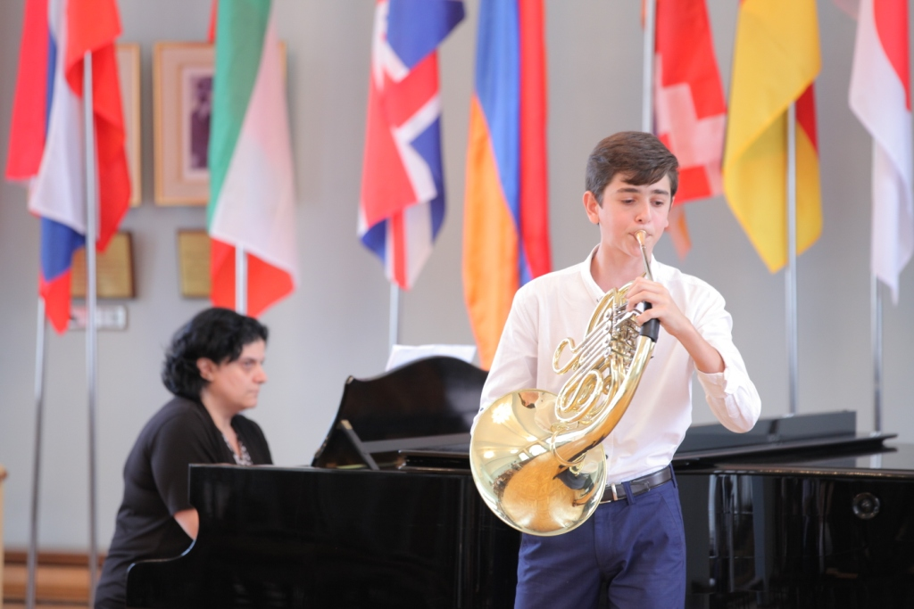 Mikayel Martirosyan French horn Concert day